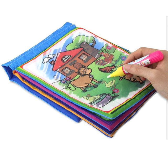 Online Shop Magic Water Drawing Book Coloring Book Colored ...