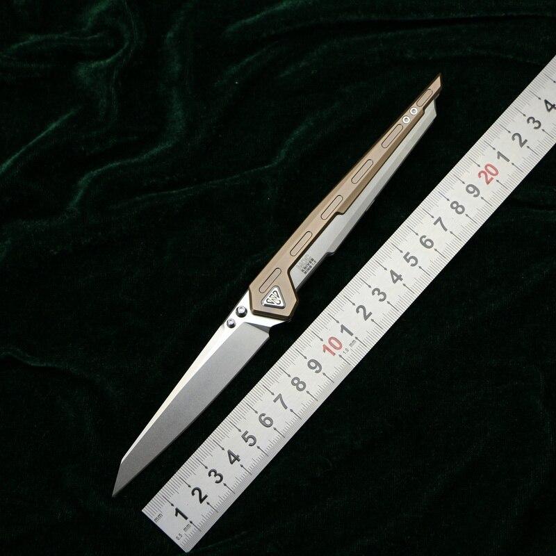 CNO aile 1 tactiques couteau pliant M390 lame KVT roulement à billes titanium poignée camping chasse survie En plein air couteaux edc OUTILS
