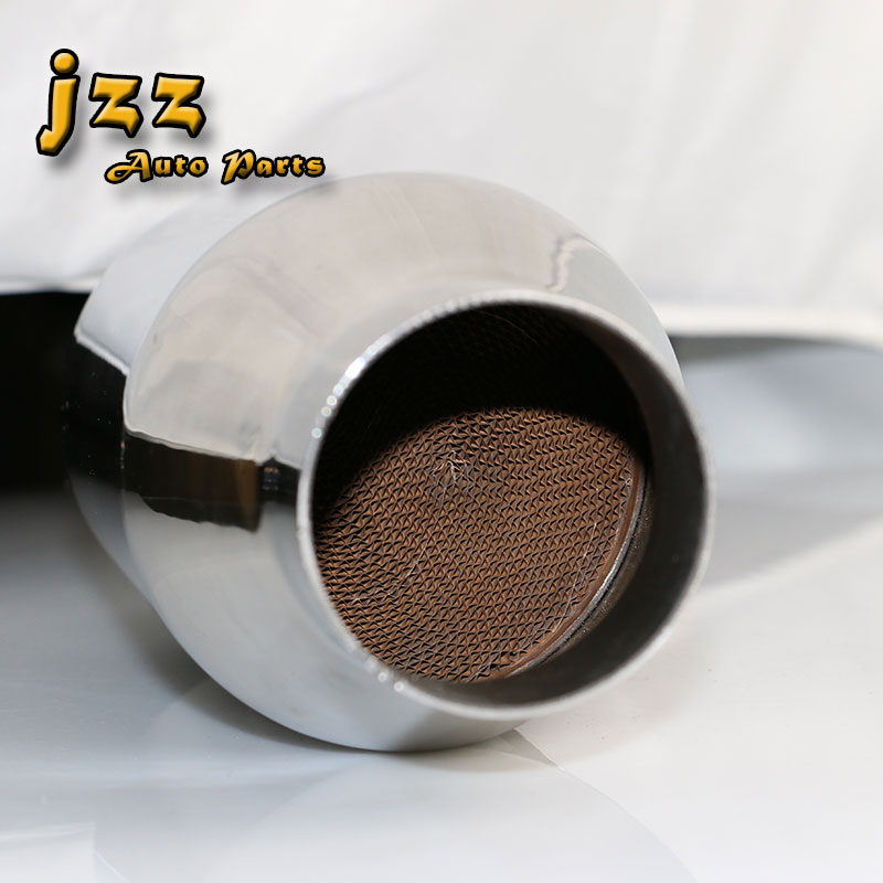 JZZ Universal car catalytic converter replacement parts Greater sound for exhaust system 63mm in Mufflers from Automobiles Motorcycles