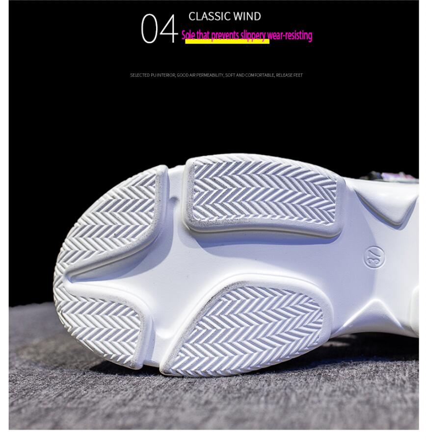 HTB1hKHtaf1H3KVjSZFBq6zSMXXaD Women Sandals 2019 New Summer Sandals Ladies Casual Shoes Women Bling Wedges Buckle Strap Platform Shoes 5 CM Sandalias Mujer