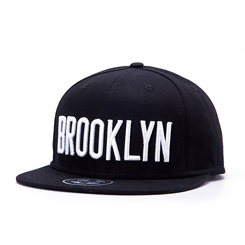 2017 basic cap brooklyn letter embroidery hip hop hats for men women baseball flat brimmed caps