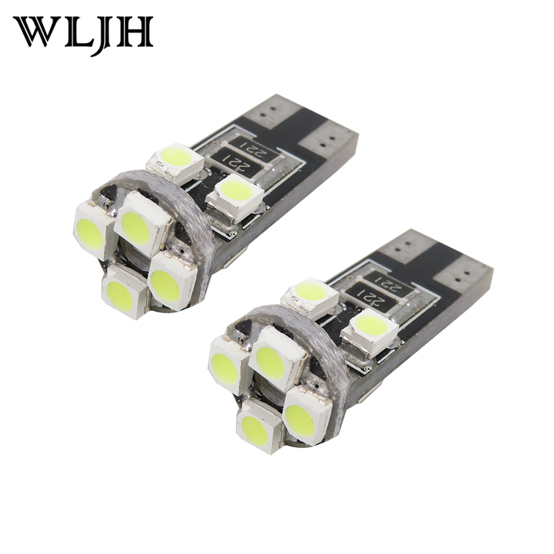 HONDA CIVIC MK8 T10 8 SMD LED WHITE XENON BULBS NUMBER PLATE CANBUS FREE ERROR