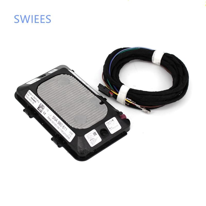 SWIEES original for Wireless Charger Module For VW Golf 7 Tiguan L Touran l Passat b8L