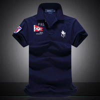 Men Clothes 2019 Famous Brand New 100% Cotton Polo Shirts Men Short Sleeve Solid Breathable Men Polo Shirt Collar Shirt Homme