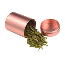 Stainless Steel Moisture Tank Airtight Stash Jar Multi-Use Vacuum Seal Portable Storage Container for Tobacco