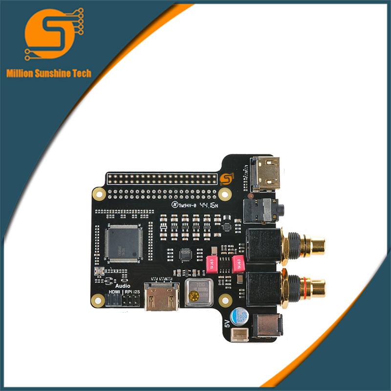 Raspberry Pi X4000 ES9018K2M Hi-Fi Player DAC Expansion Board for Raspberry Pi 3 Model B / 2B / B suptronics x series x200 expansion board special board for raspberry pi model b