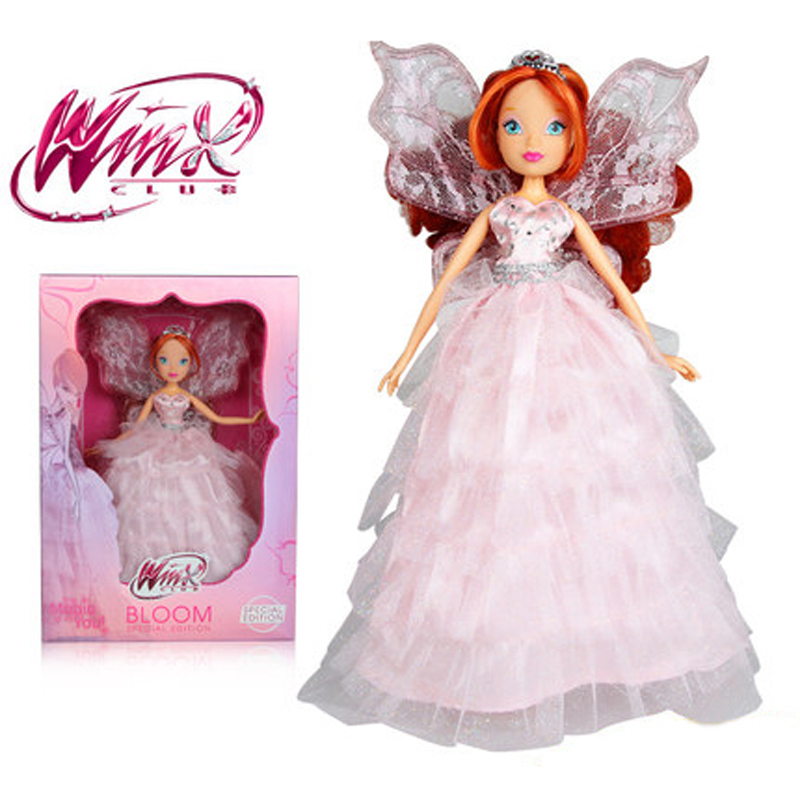 2016 Newest Special Edition Winx Club Doll rainbow colorful girl Action Figures Fairy Bloom Dolls with Classic Toy For Girl Gift winx club чемодан winx city girl fashion