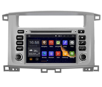 7 Android Car DVD Player with GPS,Audio Radio Stereo,Car multimedia for TOYOTA LAND CRUISER 100 1998 2007/LC 100/Lexus LX 470