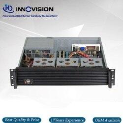 Carcasa de servidor 2u de lujo Al frente del panel RX2400 19 pulgadas 2U chasis de montaje en rack