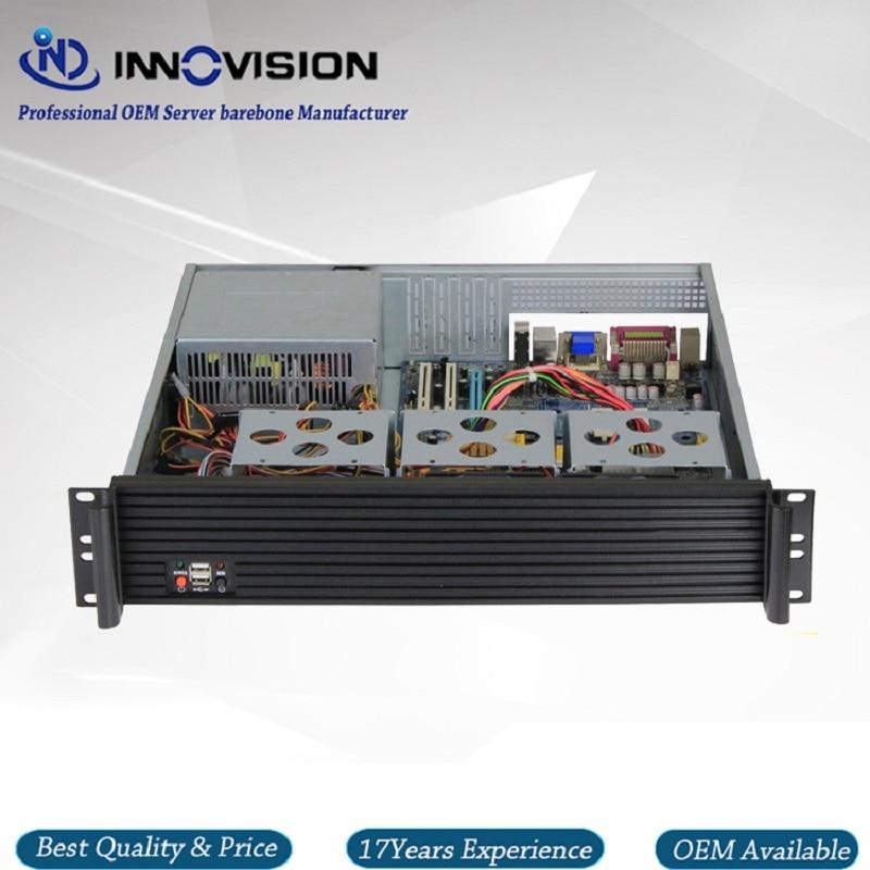 Upscale Al Front-panel 2u Server Case RX2400 19inch 2U Rack Mount Chassis