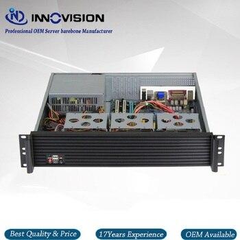 Upscale Al front-panel 2u server case RX2400 19inch 2U rack mount chassis 2u 6 disk hot plug server chassis rm21706 2u industrial chassis