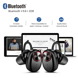 Image 4 - TWS Wireless Bluetooth 5.0 Earphones IPX5 Waterproof In Ear Sports Earbuds for smartphones Mic Stereo bluetooth headsets xiomi