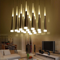 Nordic Pendant Lamp Living Room Hanging Lamps Stair Lighting Dining Bar Lamp Kitchen Lighting Pendant Hanging Lights Gold
