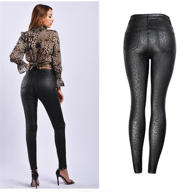 Plus Size 2018 Sexy Fashion Streetwear Vintage Print Casual Jeans for Women Jeans High Waist Jeans