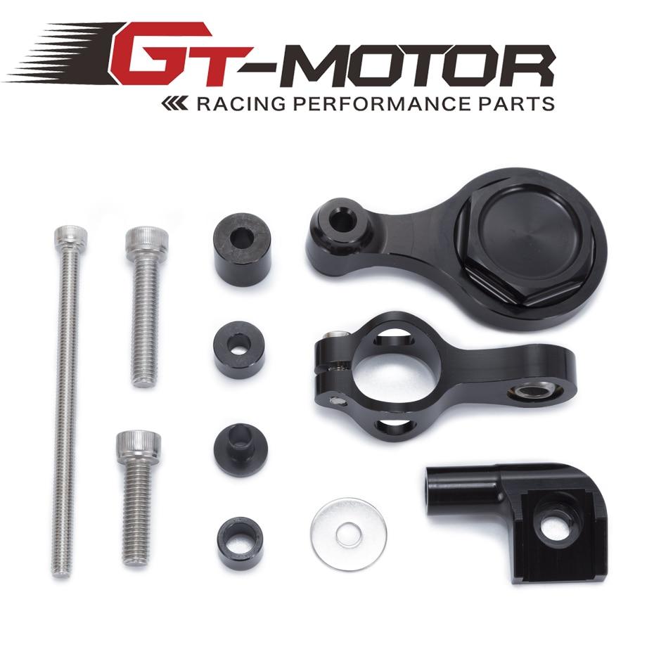GT Motor - For YAMAHA YZF R1 R6 2006-2015 Motorcycles Adjustable Steering Stabilize Damper Bracket Mount Support Kit Accessories r32 gt r ниссан скайлайн харьков