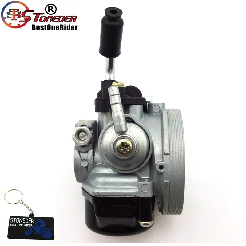 US $15 56 19% OFF|STONEDER Racing Carburetor For 50cc 60cc 80cc 2 Stroke  Engine Gas Motorized Bike Bicycle 47 49cc Pocket Bike Mini Moto Dirt ATV-in