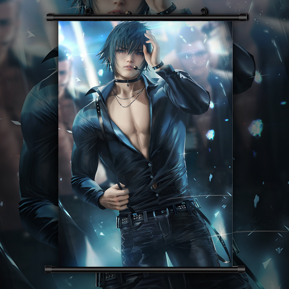 Final Fantasy Noctis Lucis Caelum Anime Manga Wall Poster Scroll