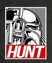 STAR WARS NEW DESIGN BOBAFETTE ~The Hunt~ CUSTOM T-Shirt *MANY OPTIONS* Print Tee Men Short Sleeve Clothing free shipping