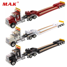 цена на Collection Diecast 1/50 1:50 Scale HX520 Heavy diecast metal construction of both trucks and trailers with XL120 Low Loader