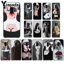 Yinuoda Sister style nun Custom Photo Soft Phone cover Case For Samsung Galaxy s9 s8 plus note 8 note9 s7 note5 cases(China)
