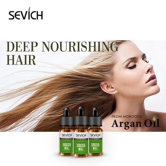 Sevich queratina Marruecos aceite de argán 20 ml hidratante cabello seco y  dañado recto reparación mantenimiento 6a8a192d8124