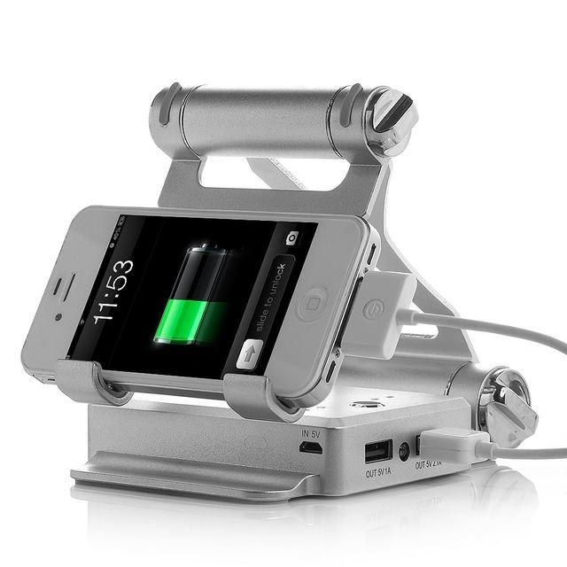 10400 mah carregador de bateria de backup portátil banco de energia móvel com suporte dobrável para tablet pc e para ipad telefone móvel