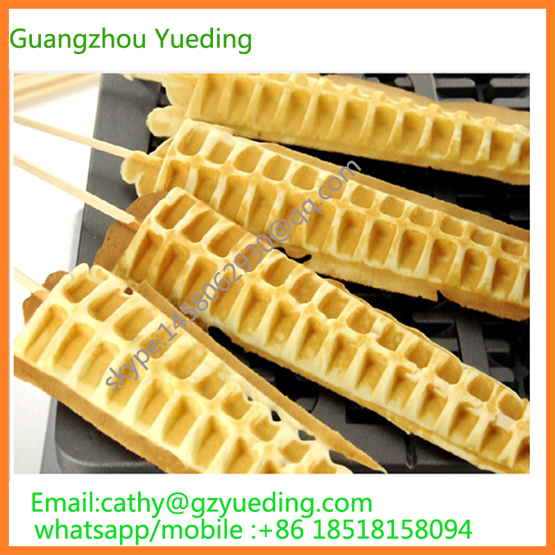 Hot Sale 4 Sticks Automatic Electric Lolly Waffle Maker, lolly sticks waffle machine, high quality belgian waffle machine lolly waffle maker automatic waffle maker machine