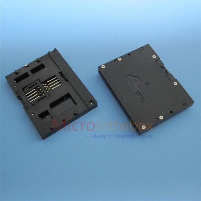 Connecteur de carte IC pour électricité compteur eau | Compteur carte IC support de lecteur, type commun DIP 8Pin