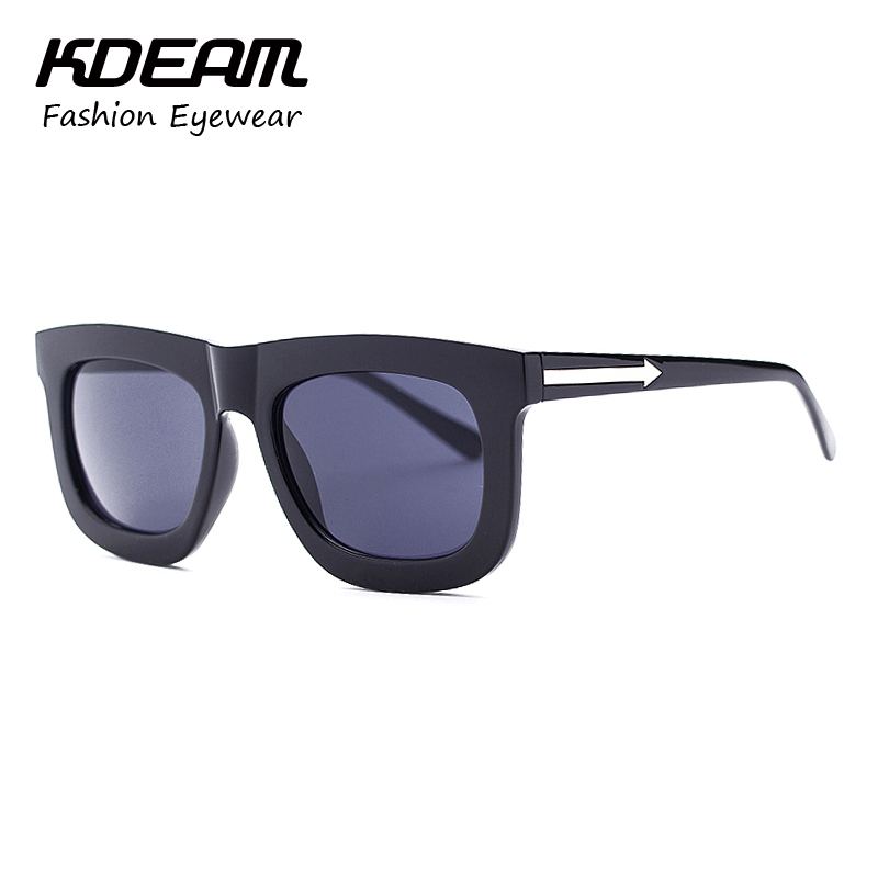 aliexpresscom buy blackclear frame sun glasses for women simple and classic square sunglasses men outdoor walker 10 colors mirrored lens kdeam from