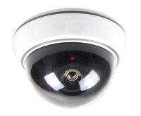 Surveillance Dummy Flash Blinking LED Fake Dome Camera Home CCTV Security Simulated Video Surveillance Fake Camaras