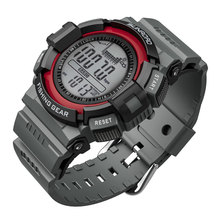 SUNROAD Digital Smart Sport Watch Waterproof 3ATM Fishing Outdoor Barometer Altimeter Thermometer Multifunction watch SW010R