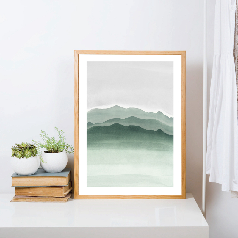 nature Canvas printing wall picture