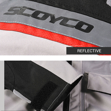 SCOYCO Motorcycle Jacket Protective Gears Reflective Ventilate Moto Jacket