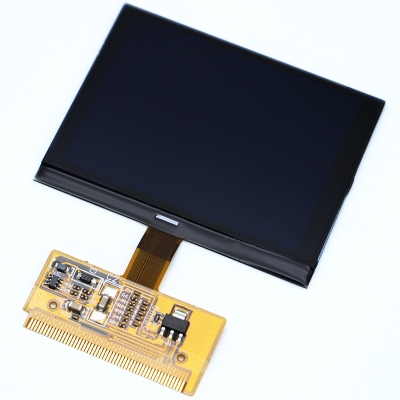 New Hot Sale Free Shipping New VDO LCD Display for Audi A3 A4 A6 for VW with High Quality for 1pc