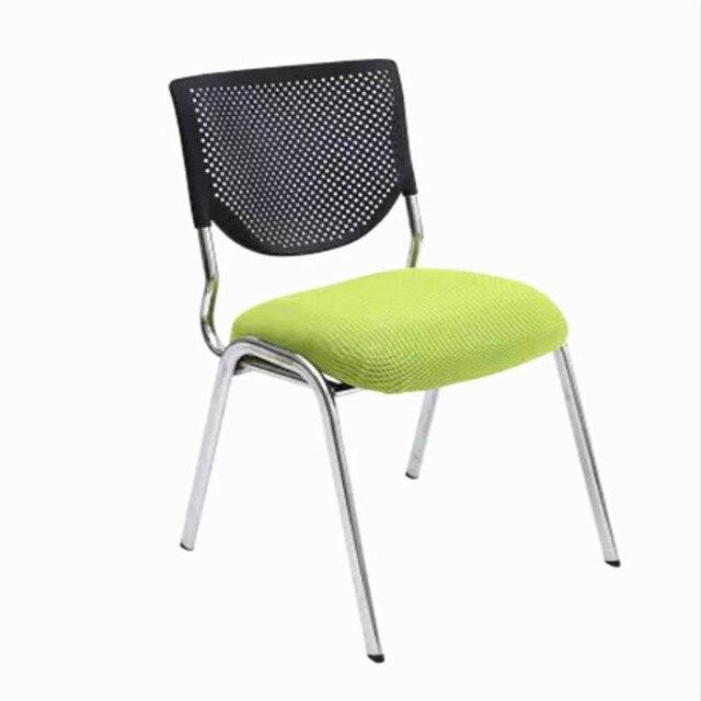 Alta Qualidade Pano de Malha Respirável Cadeira de Escritório Dobrável Portátil Almofada Macia Cadeira Do Computador Cadeira Reunião Membro Da Equipe