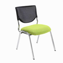 High Quality Breathable Mesh Cloth Foldable Office Chair Portable Soft Cushion Computer Chair Staff Member Meeting Chair(China)