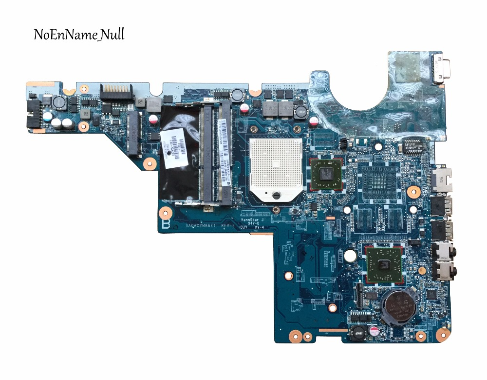 Free Shipping 623915-001 For HP CQ56 G56 CQ62 G62 Laptop Motherboard DA0AX2MB6E1 REV : E Tested Fully