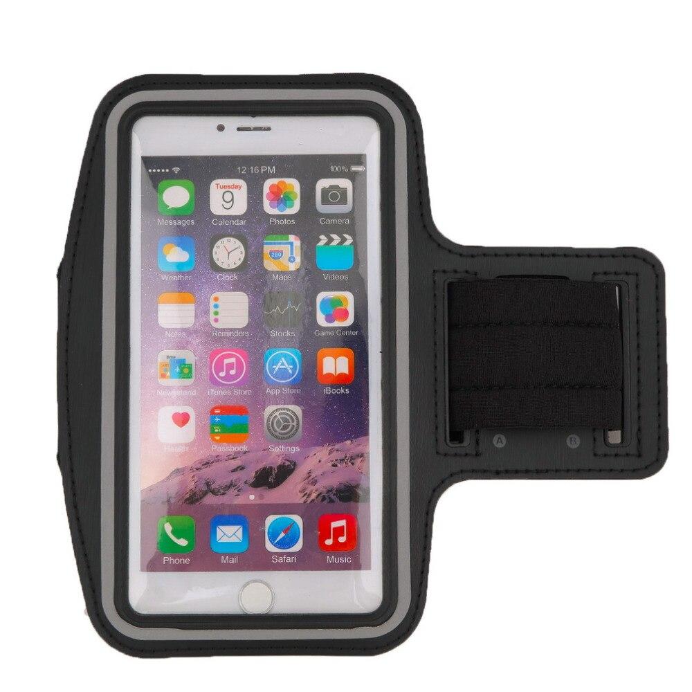 1 Stücke Premium Laufen Jogging Sport Armband-fall-abdeckung Halter Für Iphone 6 Plus Reflektierende Streifen Neopren Material Heißer Verkäufe ZuverläSsige Leistung