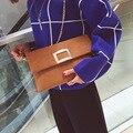 BARHEE Designer Moda Feminina Bolsa Retro Faux Suede Couro Das Mulheres Saco Do Mensageiro Saco de Embreagem Bolsa Envelope Cadeias Cinta