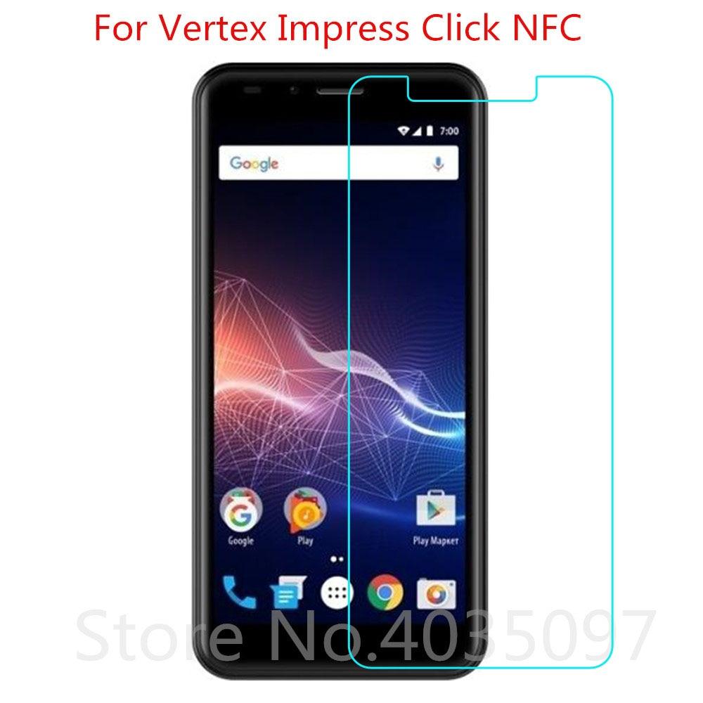 Krachtig 2 Pcs Gehard Glas Voor Vertex Impress Klik Nfc Screen Protector 9 H 2.5d Telefoon Beschermende Glas Voor Vertex Impress Klik Nfc Goedkope Verkoop 50%