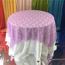 Прямая с фабрики 10 цветов скатерть для стола льняная кружевная скатерть на обеденный стол крышка для кухни дома свадебной вечеринки декор