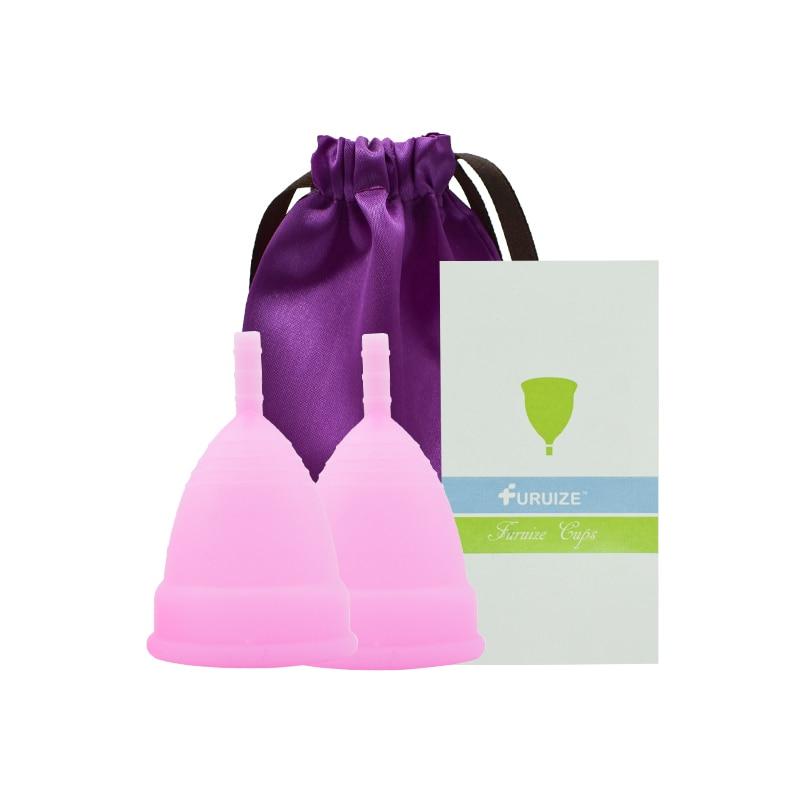 Feminine Hygiene Menstrual Cup 100% Medical Grade Silicone reusable 3