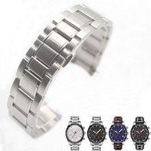 Ремешок из нержавеющей стали для T100417A T100430A часы браслет цельный браслет 20 мм Мужские часы для T100417