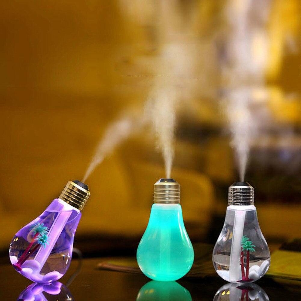 Увлажнитель воздуха USB тумана лампы очиститель 400 мл Аромат фильтр Эфирные масла диффузор Офис DC 5 В Авто Освежители воздуха