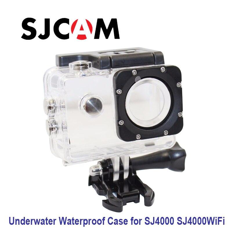 Free shipping!! Original Underwater Waterproof Case for SJ4000 Diving 30M Waterproof extreme Helmet Cam Mini Camcorder DVR
