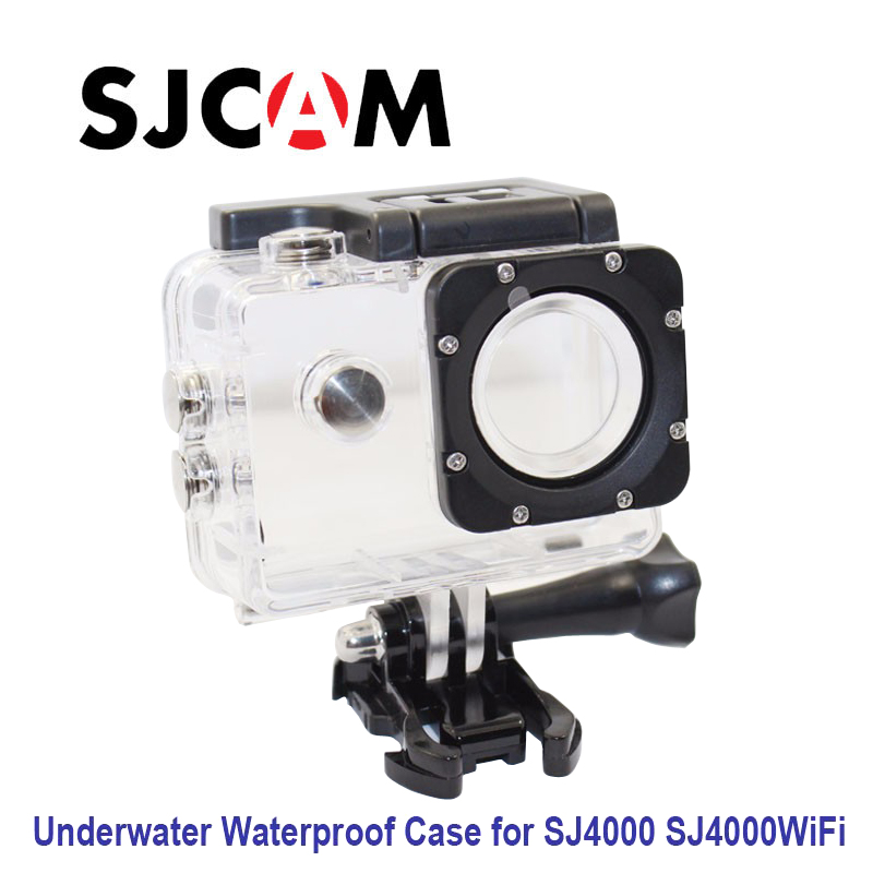 Free shipping!! Original Underwater Waterproof Case for SJ4000 Diving 30M Waterproof extreme Helmet Cam Mini Camcorder DVR