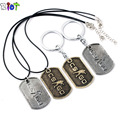 Game Cs Go zinc alloy Pendant Necklace Counter Strike Leather Chain CSGO Dog Tag Collier men Jewelry keychain keyring dropship