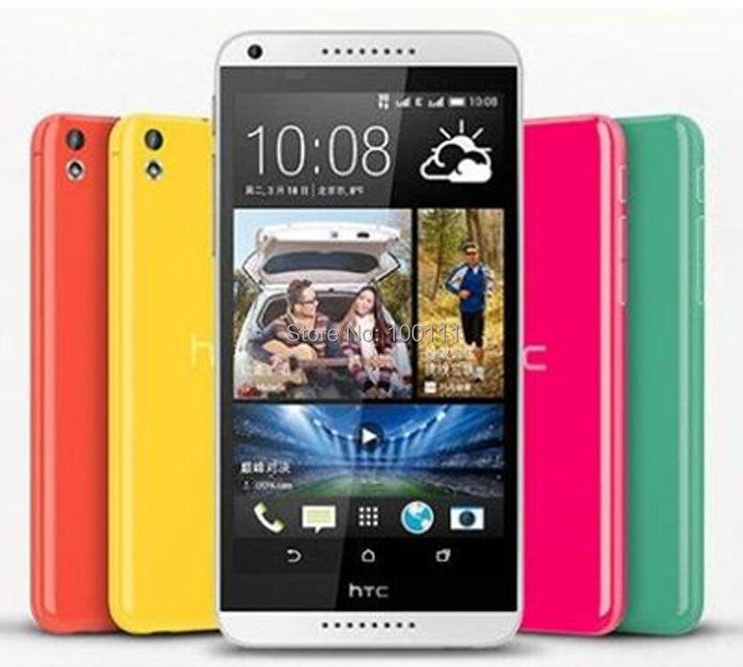 Original Unlocked HTC Desire 816 mobile Phone 8G ROMl 13MP camera quad core android 5.5 inch screen dual SIM ,Free Shipping mobile phone