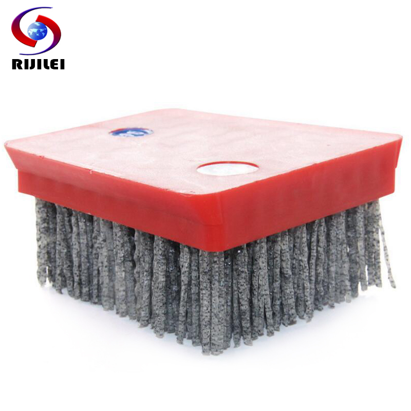 RIJILEI 10PCS/Set Dupont NM Diamond Abrasive Brushes Frankfurt Antiquing Abrasive Brush For Marble Cleaning And Polishing YG03