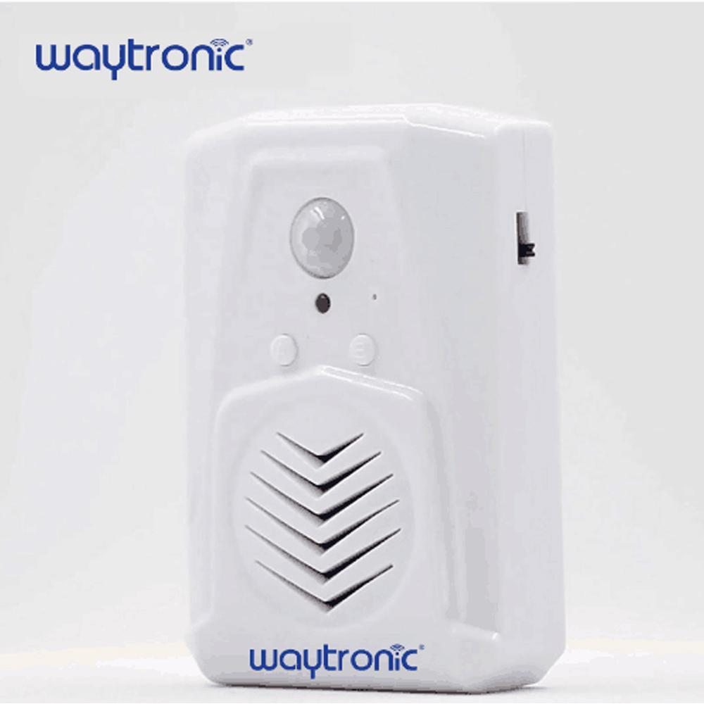 MP3 Infrarouge de Détection Sonnette Sans Fil PIR Détection de Mouvement Capteur Activé Boutique Magasin Bienvenue Sonnette De La Porte D'entrée D'alarme S3